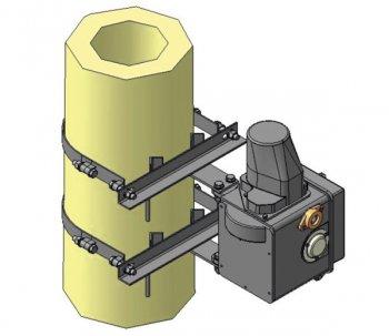 Монтажный кронштейн для привода УМП-II
